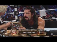 WWE Survivor Series 2015 Roman Reigns vs. Dean Ambrose - WWE World Heavyweight Championship Match