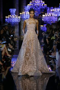 ELIE SAAB Haute Couture Fall Winter 2014-2015 Elie Saab is my alltime favourite designer. I love his creations.