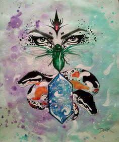 Fantasy art/watercolors