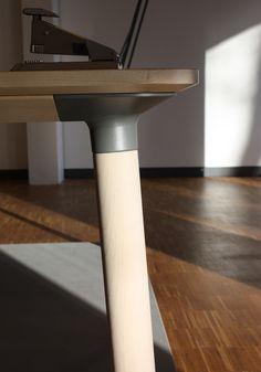 flat-pack knop table series by Karlsson + Björk