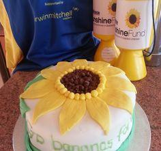 Our very own Sunshine Fund Cake. Banana and walnut. How To Raise Money, Charity, Sunshine, Banana, Cake, Desserts, Food, Pie Cake, Tailgate Desserts