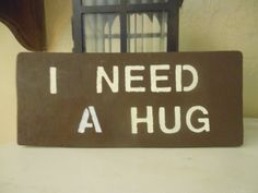 I Need A Hug by AngelPaws6 on Etsy