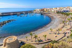 Mejores playas familiares, Playa San Juan, Tenerife, Islas Canarias // Best family beaches, Tenerife, Canary Islands // Beste Familienstrände, Teneriffa, Kanarische Inseln  #VisitTenerife Tenerife, Best Family Beaches, Canario, Canary Islands, Strand, River, Adventure, World, Outdoor Decor