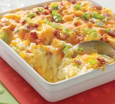 Great for family get togethers. After all, who doesn't love mashed potatoes? This casserole can be assembled ahead of time and refrigerated until you're ready to serve it. Mashed Potato…