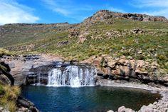 Sparkling rivers at Afriski Mountain resort.