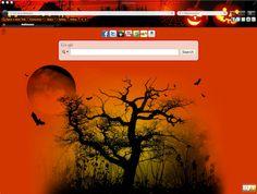 Halloween Chrome Theme