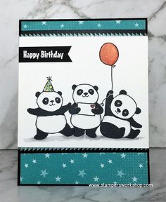 Image result for party pandas stampin up