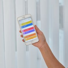 Luxaflex Luminette Privacy Sheers with PowerView Motorisation - Three Birds Renovations House 8, Bonnie's Dream Home