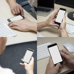 iPhone 6 Office Mockups