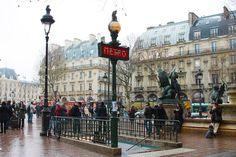 Paris Metro Paris Metro, Street View, France, French