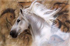 Художница Sandi Baker рисует реалистичные портреты животных