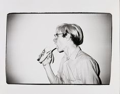 Warhol Photography: Andy Warhol with a Banana, 1982