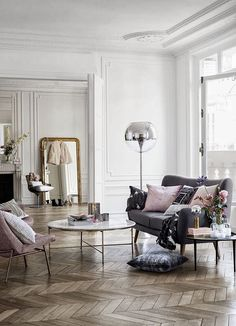 H&M Home Collection Spring Summer 2014, marble table for living room in the city.