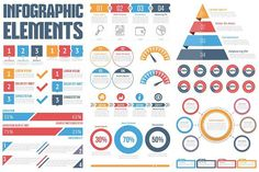 Infographic Elements. UI Elements. $8.00