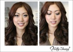 copper smokey eyes by Kelly Zhang