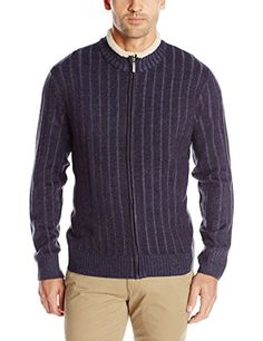 This ia another style that would work (XL non-slim cut)  Geoffrey Beene Men's Long Sleeve, Plaited Ribbed Full Zip Sweater, Navy, forest Green or oatmeal  //smile.amazon.com/dp/B0155OLW7K/ref=cm_sw_r_pi_dp_5CIwwb045AZ43