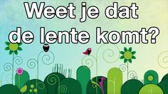 Weet je dat de lente komt - Spring and Easter (in Dutch) Christian Songs, Feel Good, Kids, Children, Seasons, Education, Spring, Youtube, Fictional Characters
