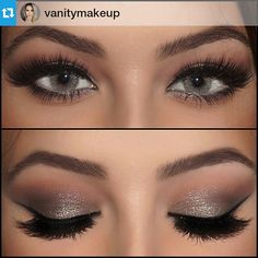 #Repost another one by: @vanitymakeup ❤ ・・・ On the crease: @anastasiabeverlyhills burnt orange eyeshadow •• on the lid , outer crease and lower lash line @chanelofficial eyeshadow palette in 43 mystere. @sigmabeauty #sigmabeauty gel liner @anastasiabeverlyhills pro brow pencil on the waterline and @flutterlashesinc in Annabelle brows: @anastasiabeverlyhills brow wiz in medium brown with dark brown brow powder #vanitymakeup
