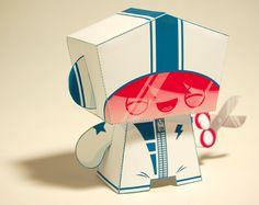 paper mascote...