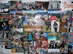 O tema do #thefabulousproject de hoje é #parede . Esse é um dos painéis que estão na parede do meu quarto exibindo lembranças de corridas e de viagens felizes. Lá no blog tem um post sobre como fazer um painel diferente e usar os milhares de ímãs de propaganda que recebemos. Corre lá para ver e fazer um para você também.  Bom diaaaaaa... #viajarcorrendo #maniadecorrida #corredorescariocas #blogsdecorrida #viagensincriveis #viagem #travel #blogueirosdeviagens #blogsdeviagem #dia14