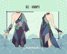Outfit Adoptables # (Close) by gc-adopt on DeviantArt Character Description, Drawing Tools, Cool Designs, Disney Characters, Fictional Characters, Adoption, Novels, Digital Art, Deviantart
