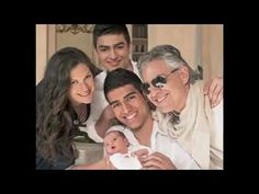 ..delightfully handsome Amos Bocelli takes centre stage with his half-sister Virginia.....
