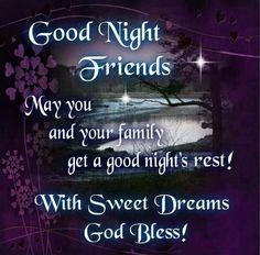 65 Best Good Night Friends Images Good Night Good Morning Good