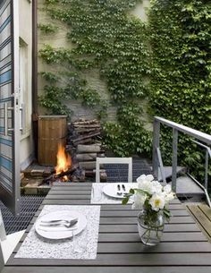 Prospect Heights Row House - Contemporary - Deck - New York - Delson or Sherman Architects pc