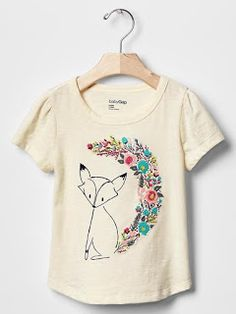 12 Ideas espectaculares para decorar camisetas para niñas ~ Belleza y  Peinados Playera Bordada 122a55efffd24