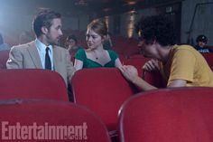 Ryan Gosling, Emma Stone, and Damien Chazelle