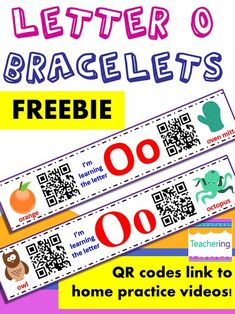 45 best free qr code activities images on pinterest qr codes free free letter o homework with qr codes preschoolers kindergartners wear these home and parents fandeluxe Gallery