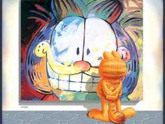 Garfield Appreciating Art