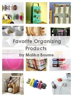 Favorite Organizing Products
