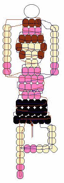 Ballerina beads