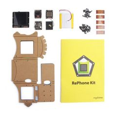 RePhone DIY Cell Phone Kit    Now, with the RePhone DIY Cell Phone Kit, you can build your phone from the ground up. It's an open source modular phone kit that you can use to provide the ultimate customized device or use to convert your plain old boring toilet (or whatever) into an Internet-Of-Things toilet.    Code/Art   » Top Coding (STEM) Gifts for Girls – 12+ years    #stem #code #girls #gifts #cool #tech #cellphonesaccessories #cellphones
