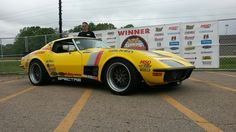 """Congrats to Chris Smith from Smitty's Custom Automotive, Ltd for winning his invitation to the 2015 Goodguys Rod & Custom Association Scottsdale """"Duel in the Desert"""" with the RideTech 48 Hour Corvette on Forgeline GX3 wheels and Falken Tires.  #Forgeline #GX3 #notjustanotherprettywheel #madeinUSA #Chevy #Corvette #C3 #Stingray #48HourCorvette"""
