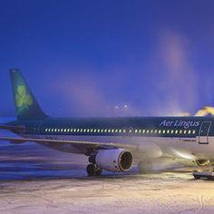 aer lingus dublin airport air travel flight attendant dusk airplanes airports
