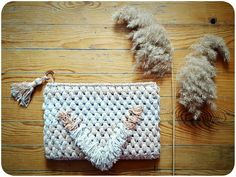 Crochet clutch bag ♢
