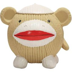 Ruff-Tex Sock Monkey Knottie - Xlarge    Ruff-Tex toys are durable bouncy toys great for any dog that loves to chase and chew! Made of all-natural rubber, the toys are designed to be extra stretchy! Great for tossing and fetching, each toy is filled with poly foam and contains no harsh chemicals.