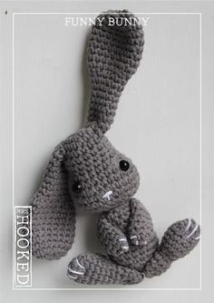 Mesmerizing Crochet an Amigurumi Rabbit Ideas. Lovely Crochet an Amigurumi Rabbit Ideas. Bunny Crochet, Easter Crochet, Crochet Patterns Amigurumi, Cute Crochet, Crochet Animals, Crochet Dolls, Baby Accessoires, Funny Bunnies, Crochet Projects