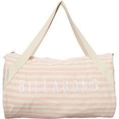 Billabong Dreamtime Weekender Bag (€39) ❤ liked on Polyvore featuring bags, luggage, accessories and women