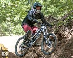 Image result for mountain biker wearing body armour