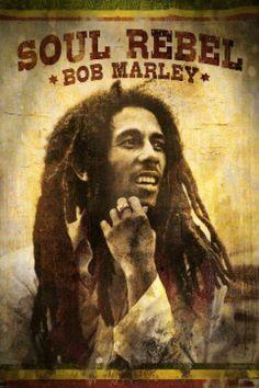 Bob Marley - Soul Rebel (24x36) - MUS56001