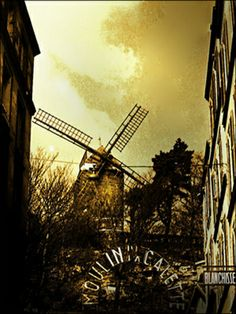 More of my vintage photographs of Paris taken in 1956 are featured here. Thanks Theadora Brack! (Moulin de la Galette by Maurice Sapiro, Paris, 1956)