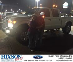 Congratulations Mick on your #Ford #Super Duty F-250 SRW from Blaise Desselles at Hixson Ford of Alexandria!  https://deliverymaxx.com/DealerReviews.aspx?DealerCode=UDRJ  #HixsonFordofAlexandria