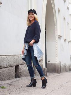Lack of Colour - Blog / #Double #denim #outfit