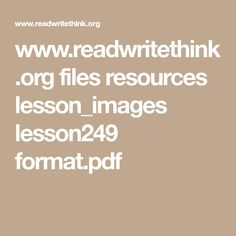 www.readwritethink.org files resources lesson_images lesson249 format.pdf