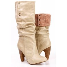 fold over boots! High Heel Boots, Heeled Boots, Bootie Boots, Flat Boots, Boot Heels, Ankle Boots, High Heels, Cute Boots, Sexy Boots