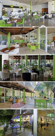 """Green is one of colors, and it means eco-friendly. Light on show you some cafe shop interior design cases from web site in green, maybe they are in 2 kinds of """"Green"""". Green Colors, Light Colors, Cafe Shop Design, Green Interior Design, Shop Interiors, Coffee Shop, Decor Styles, Interior Decorating, Mansions"""