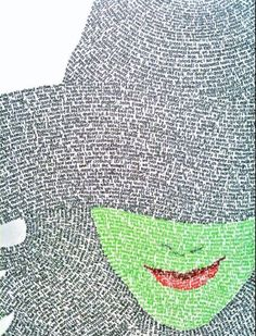 Elphaba - Song lyrics from Wicked and Defying Gravity. A-FREAKING-MAZING Wicked=favorite musical. Art Actuel, Comedia Musical, Image Tumblr, Theatre Geek, Musical Theatre, Theatre Quotes, Ecole Art, Illustration, Wow Art
